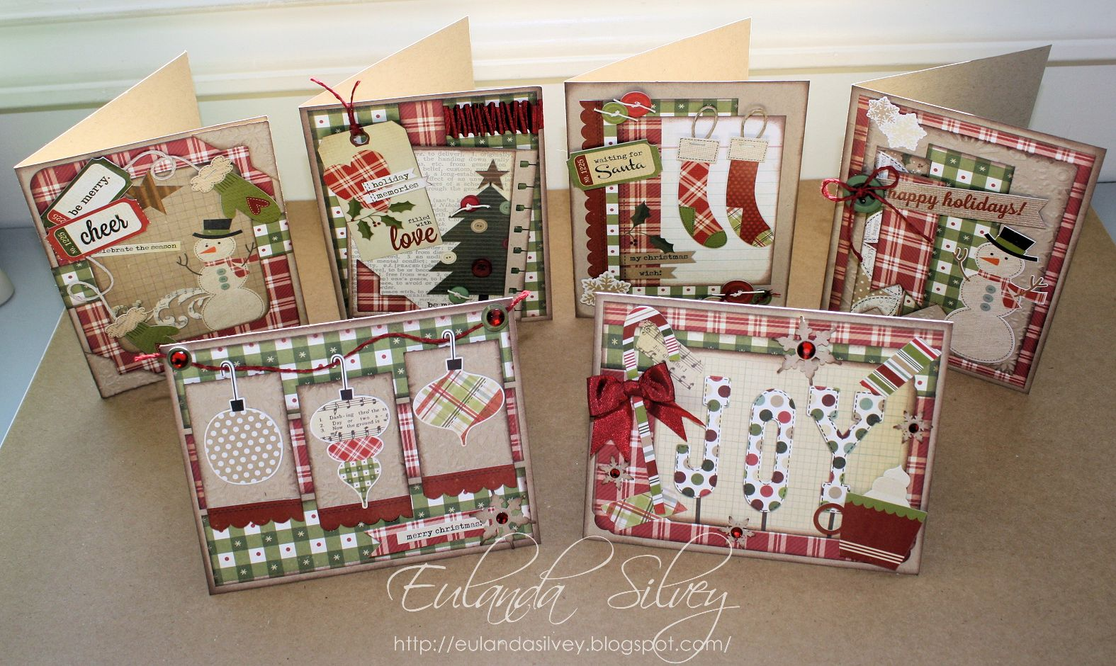 and More Cards: Simple Stories quot;Handmade Holidayquot; Christmas Cards