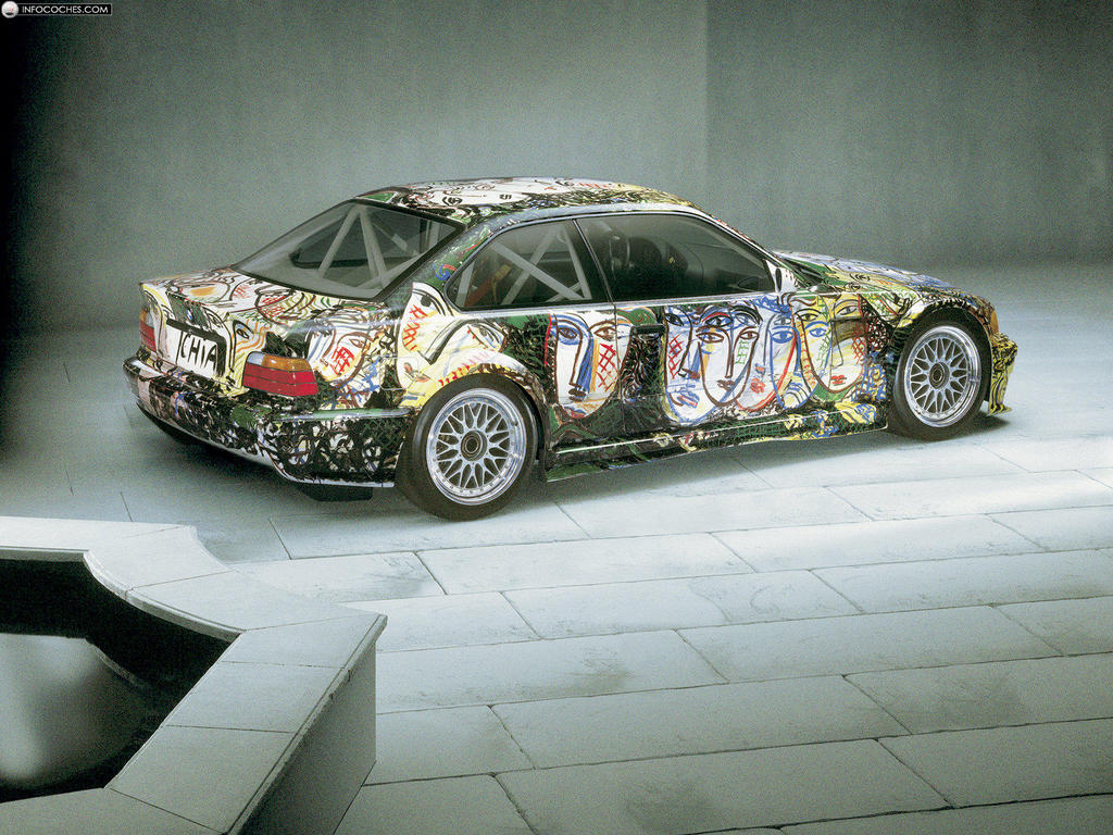 bmw art car 2011 the car club. Black Bedroom Furniture Sets. Home Design Ideas