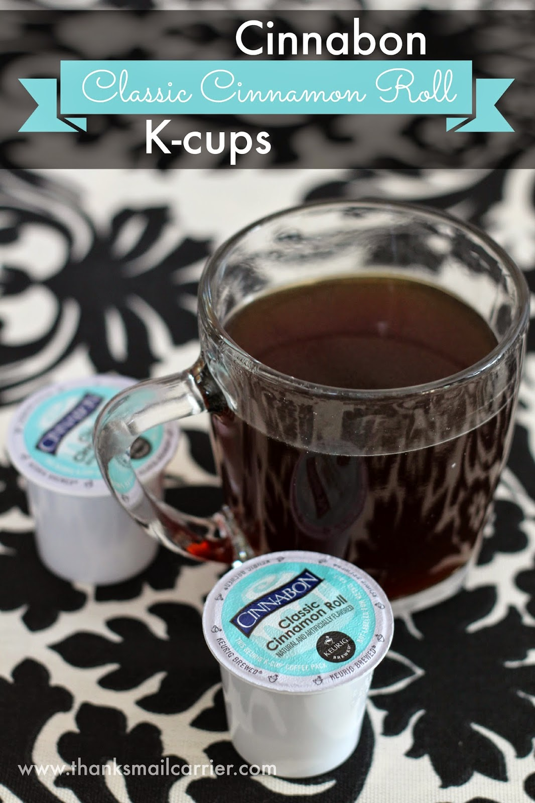 Cinnabon Cinnamon Roll k-cup coffee