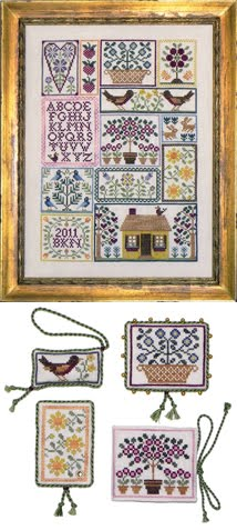 "BRD-108 ""Berries, Birds, and Blooms"" <br> New for December 2012"