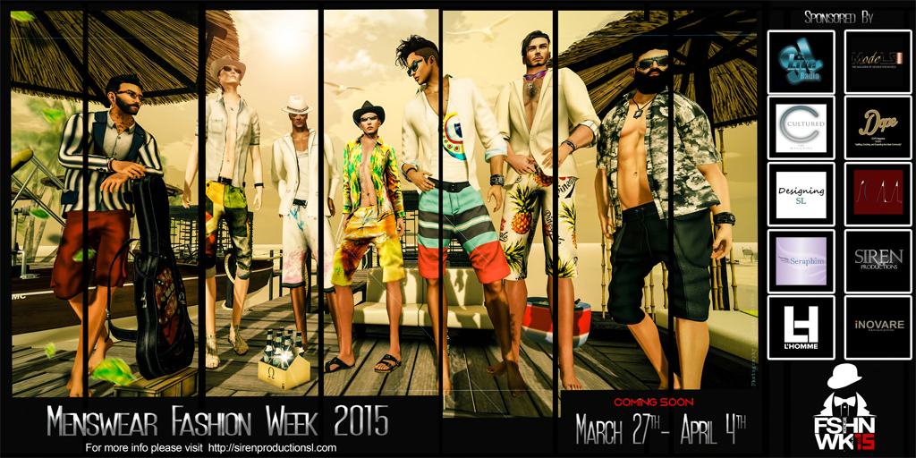 MENSWEAR FASHION WEEK 2015