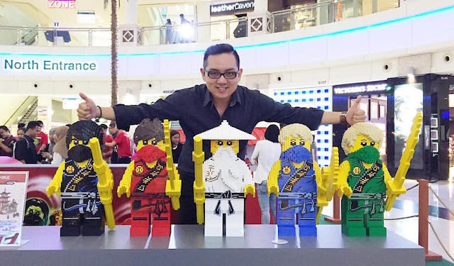 Feeling excited at the Curve with LEGO Ninjago