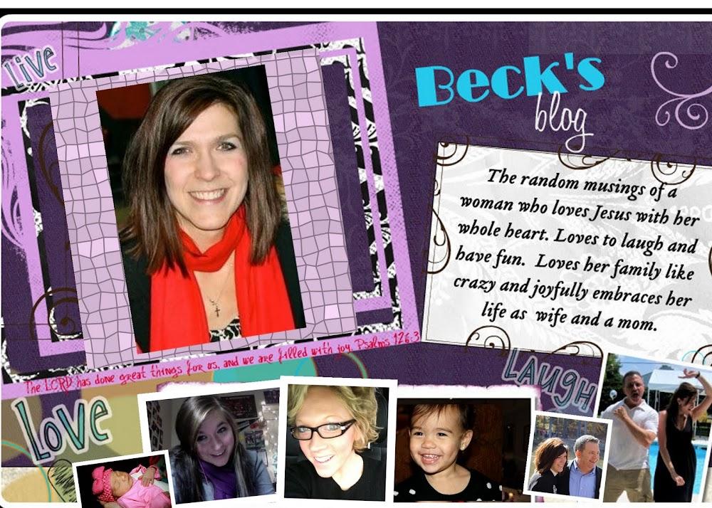 Beck's Blog