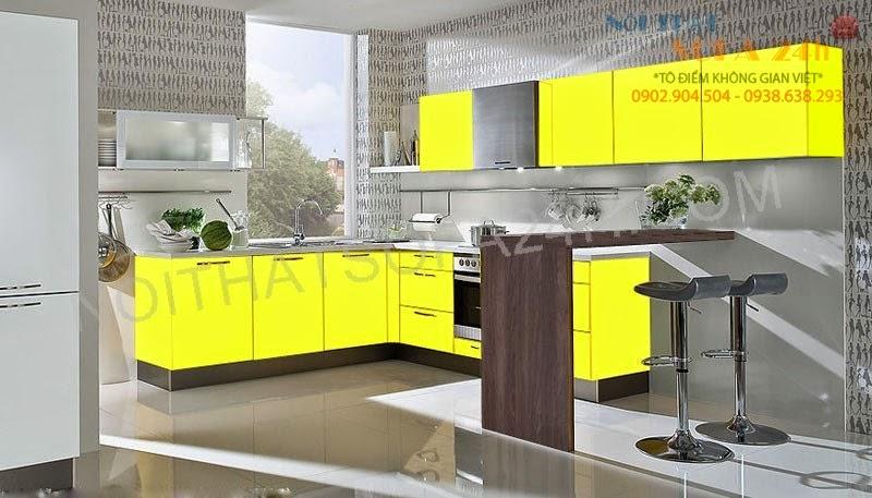 Tủ bếp TB083