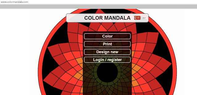 color mandala generator