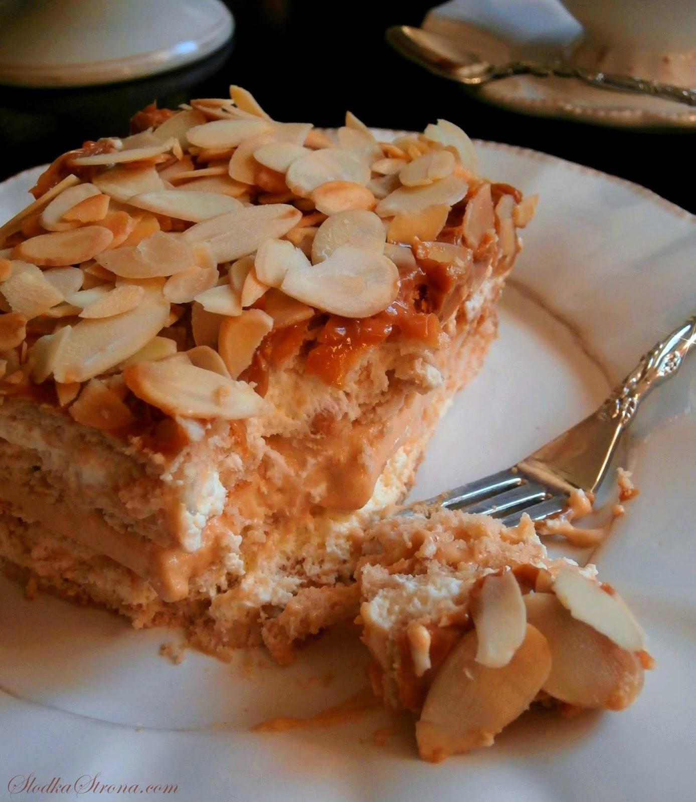 ciasto krowka bez pieczenia