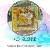 Wyzwanie #20 Słońce