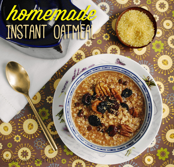 make instant oatmeal