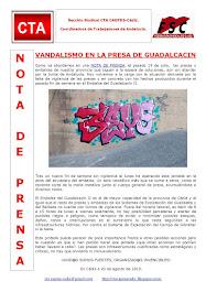 VANDALISMO EN LA PRESA DE GUADALCACIN