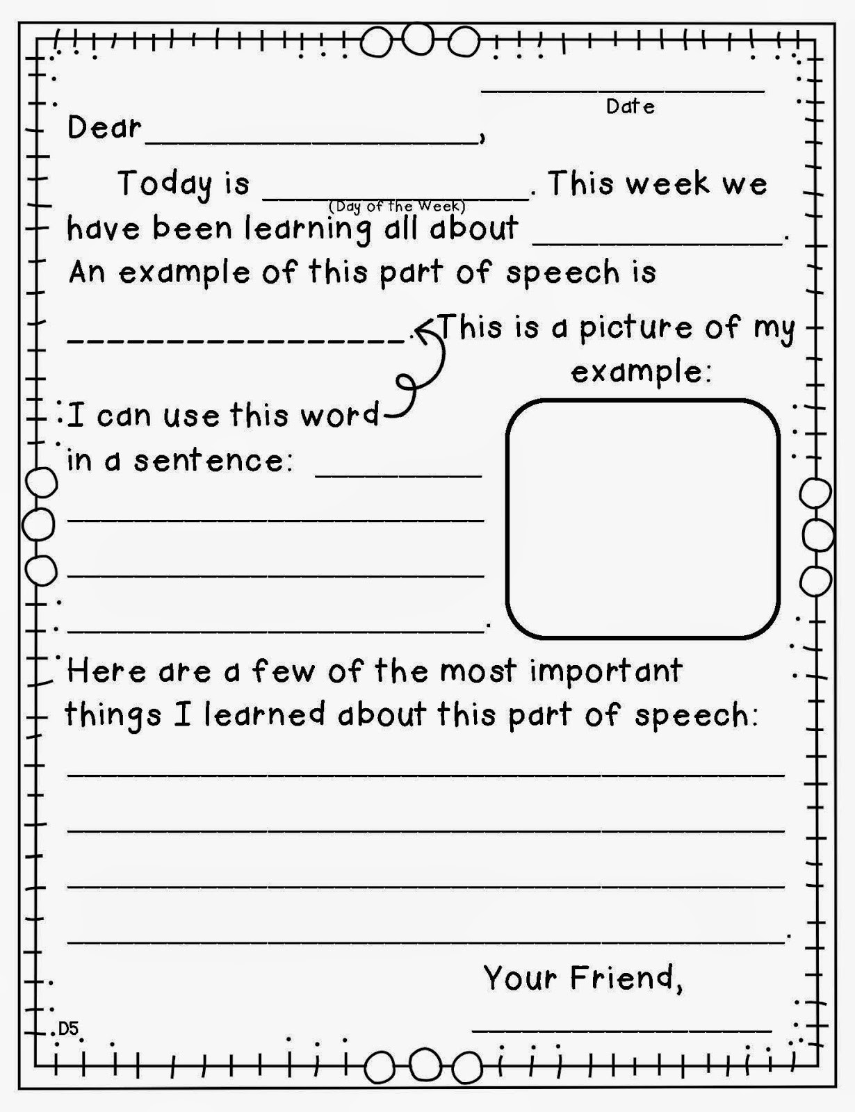 https://www.teacherspayteachers.com/Product/Morning-Message-Adjective-Edition-1708058