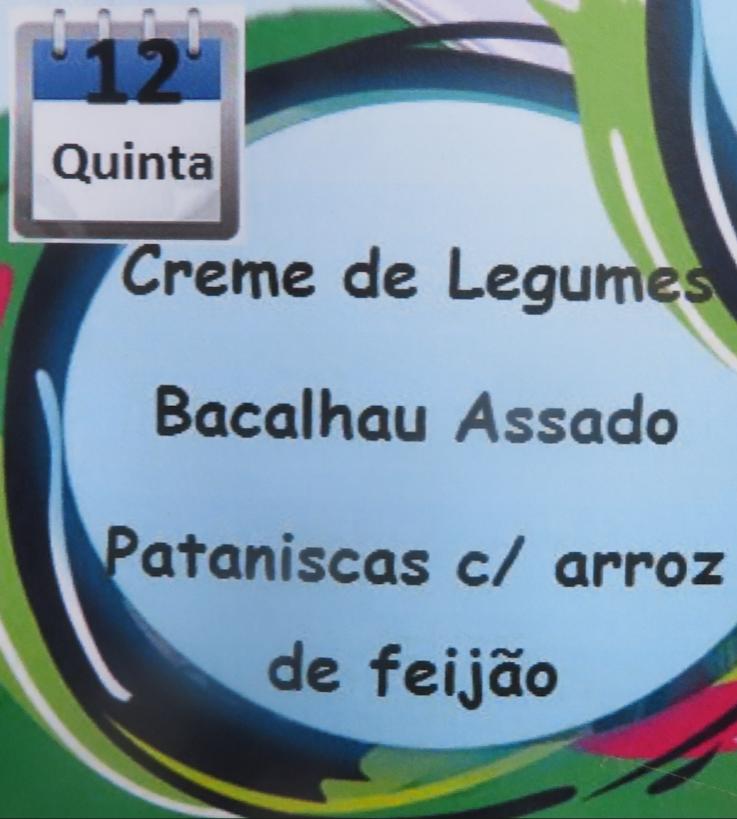 BACALHAU E PATANISCAS, COM PETISCOS, NA ARCOR DO AGITÁGUEDA!