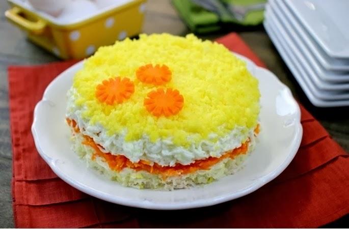 Салат мимоза рецепт фото пошагово