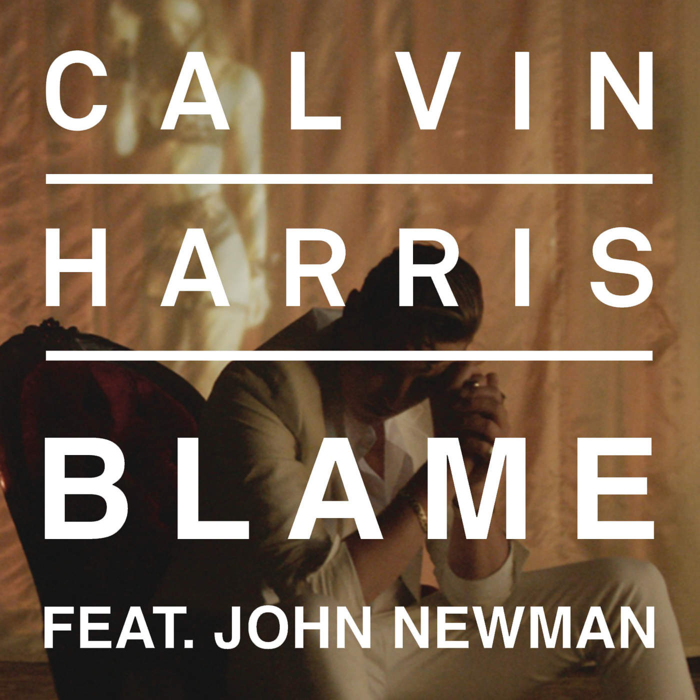 Calvin Harris - Blame - Single Cover
