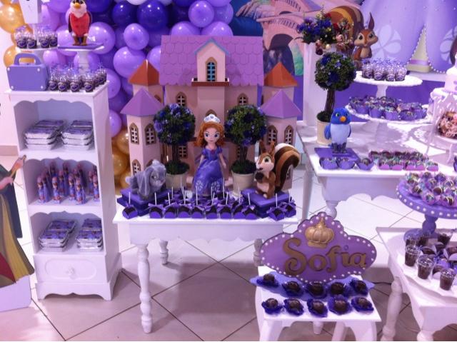 decoraç u00e3o aniversário princesa sofia Convites Digitais Simples -> Decoração De Aniversário Princesa Sofia