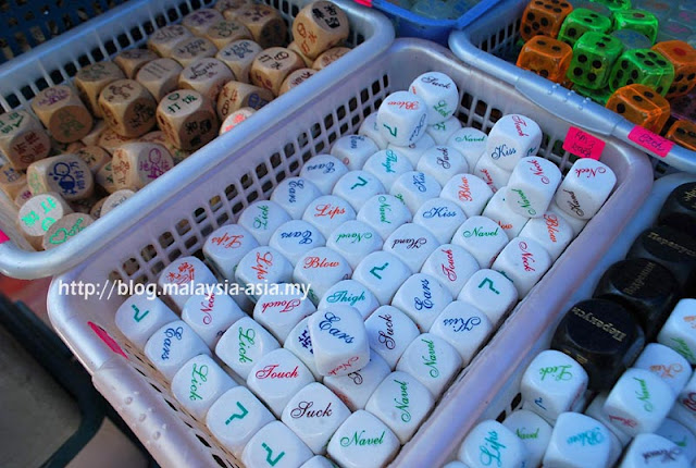 Toys at Gaya Street Sunday Market
