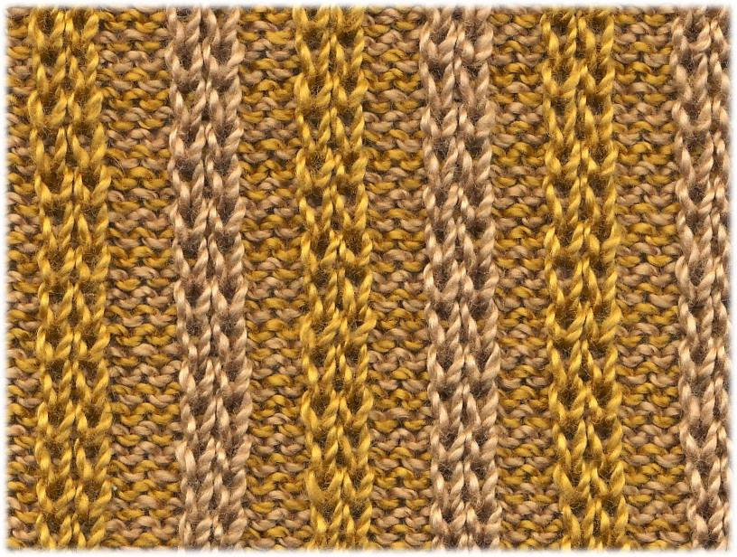 Knitting Rib Stitch Variations : Knitting in the fastlane: October 2011