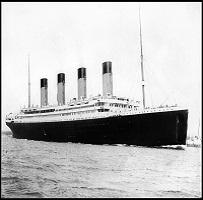 Titanic / Viimeinen ateria ja ruokalista