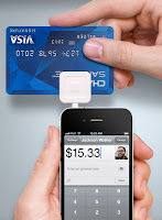 Square Credit Card Reader image from Bobby Owsinski's Music 3.0 blog