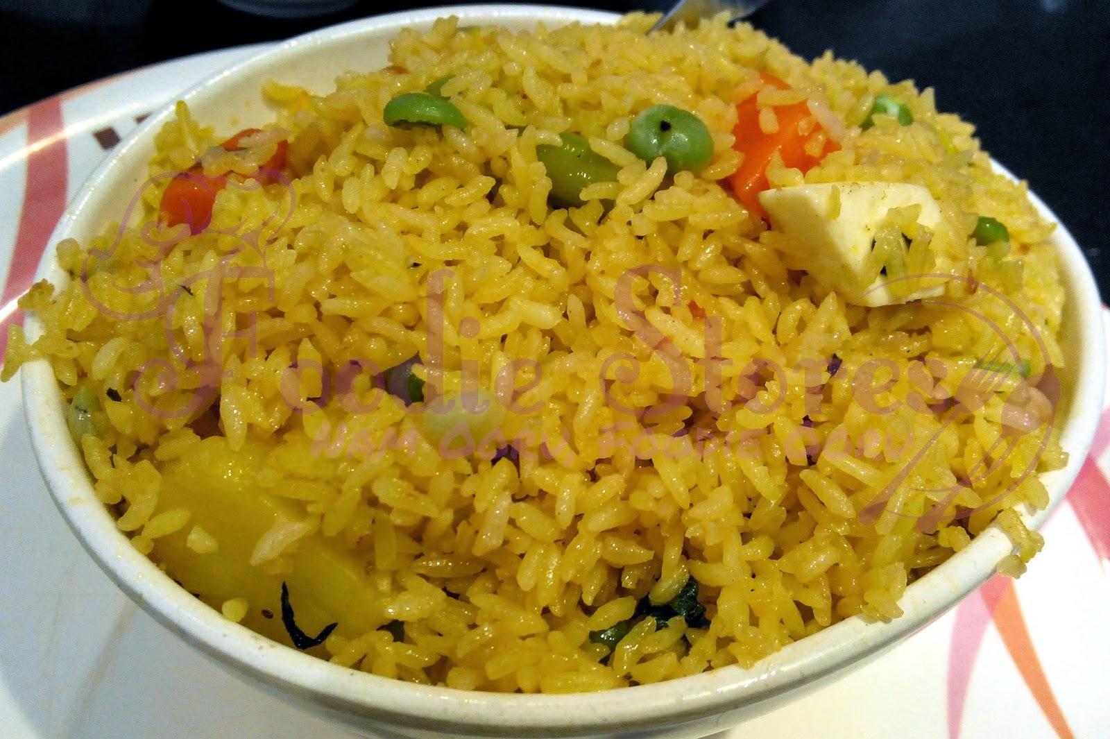 Ta'aam Restaurant Veg Biryani