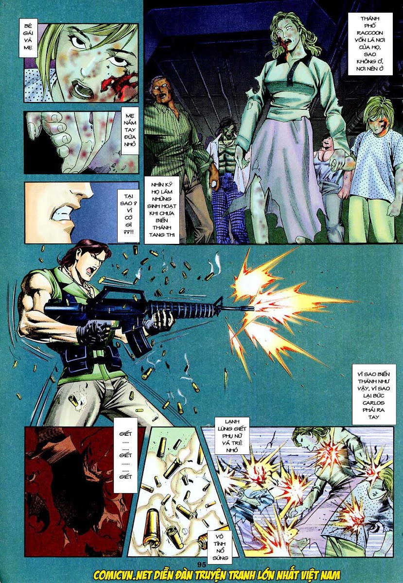 Resident Evil 3 chap 4 - Trang 16