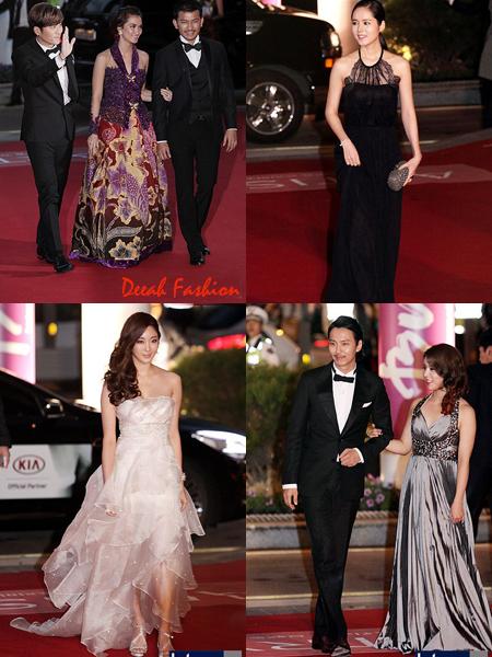 Busana Seleb Korea di Festival Film Busan 2012