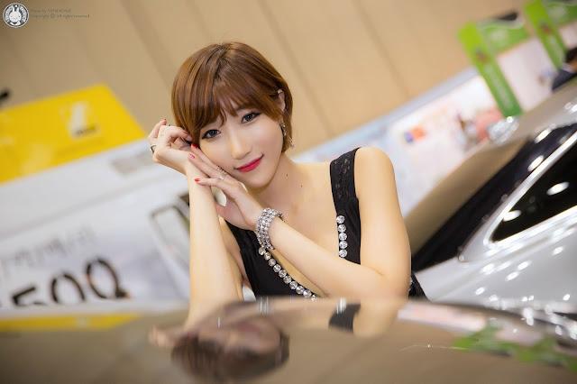 5 Yu Ji Ah - World Consumer Electronics Show - very cute asian girl-girlcute4u.blogspot.com