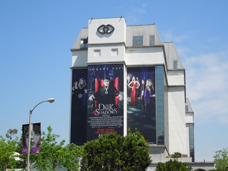 Giant Dark Shadows movie billboard