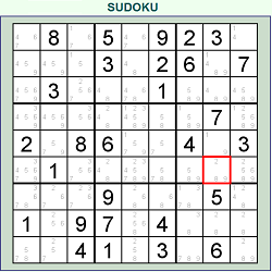 Online Daily Classic Sudoku (Logical Thinking Puzzle Game)