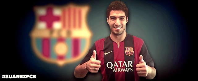 FC Barcelona signs Luis Saurez
