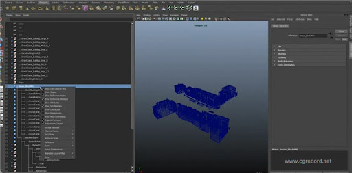 Maya Technology Preview: File Referencing