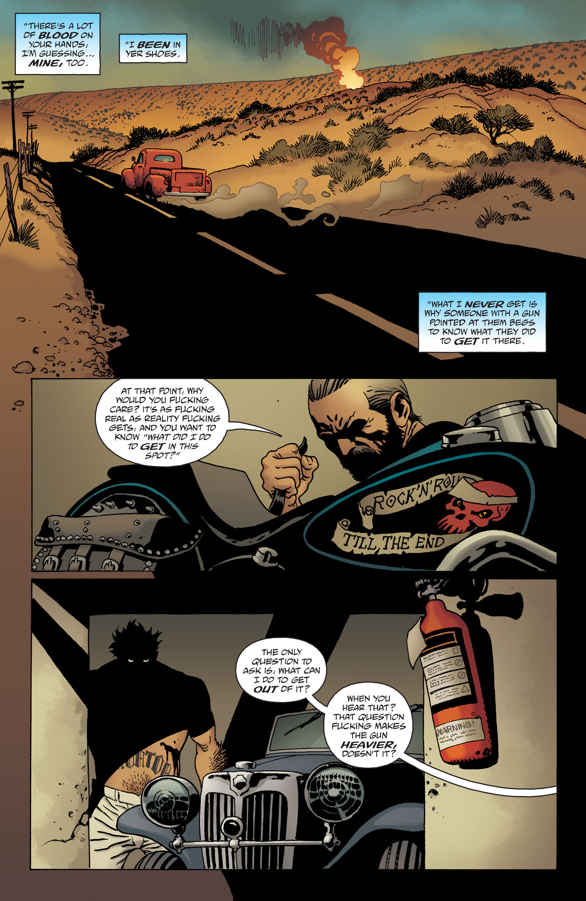 100 Bullets: Brother Lono Full Page 176