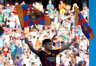Neymar in Barcelona