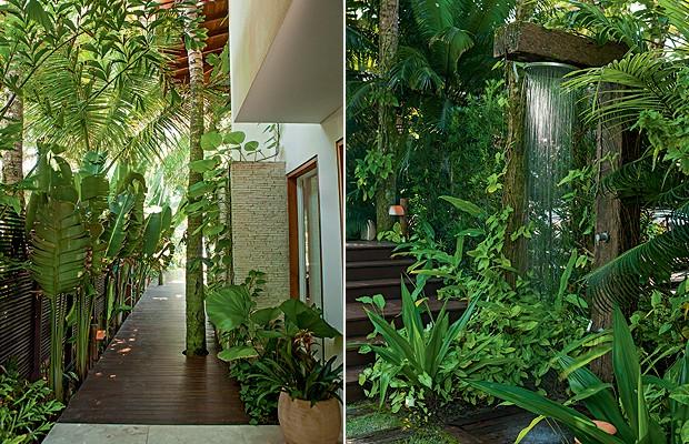 fotos jardins tropicais : fotos jardins tropicais:Blog – FGR Urbanismo: Jardim rico em plantas deixam a casa com uma