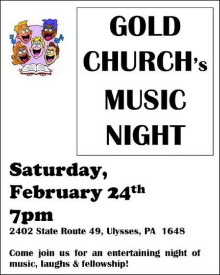 2-24 Gold Church Music Night