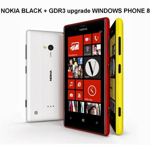 Iniziato l'upgrade del software Windows phone 8 alla versione Nokia Black + Gdr3 per lo smartphone Lumia 720 in Europa