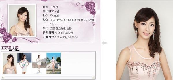 นางงามเกาหลี 2013 ศัลยกรรม หน้าเหมือนเป๊ะ - 16