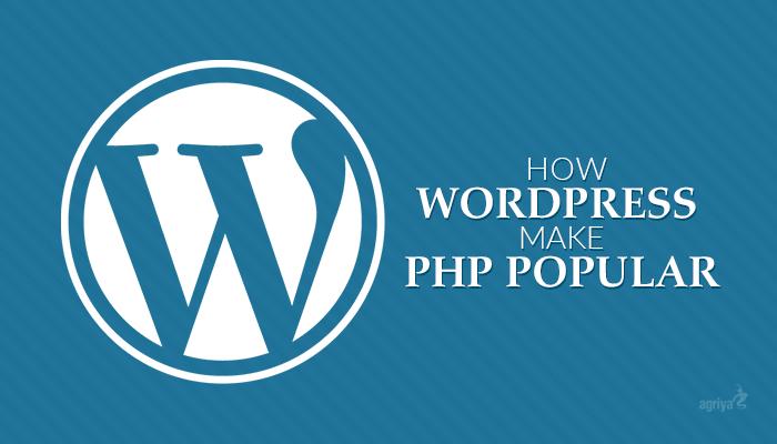 how-wordpress-make-php-popular
