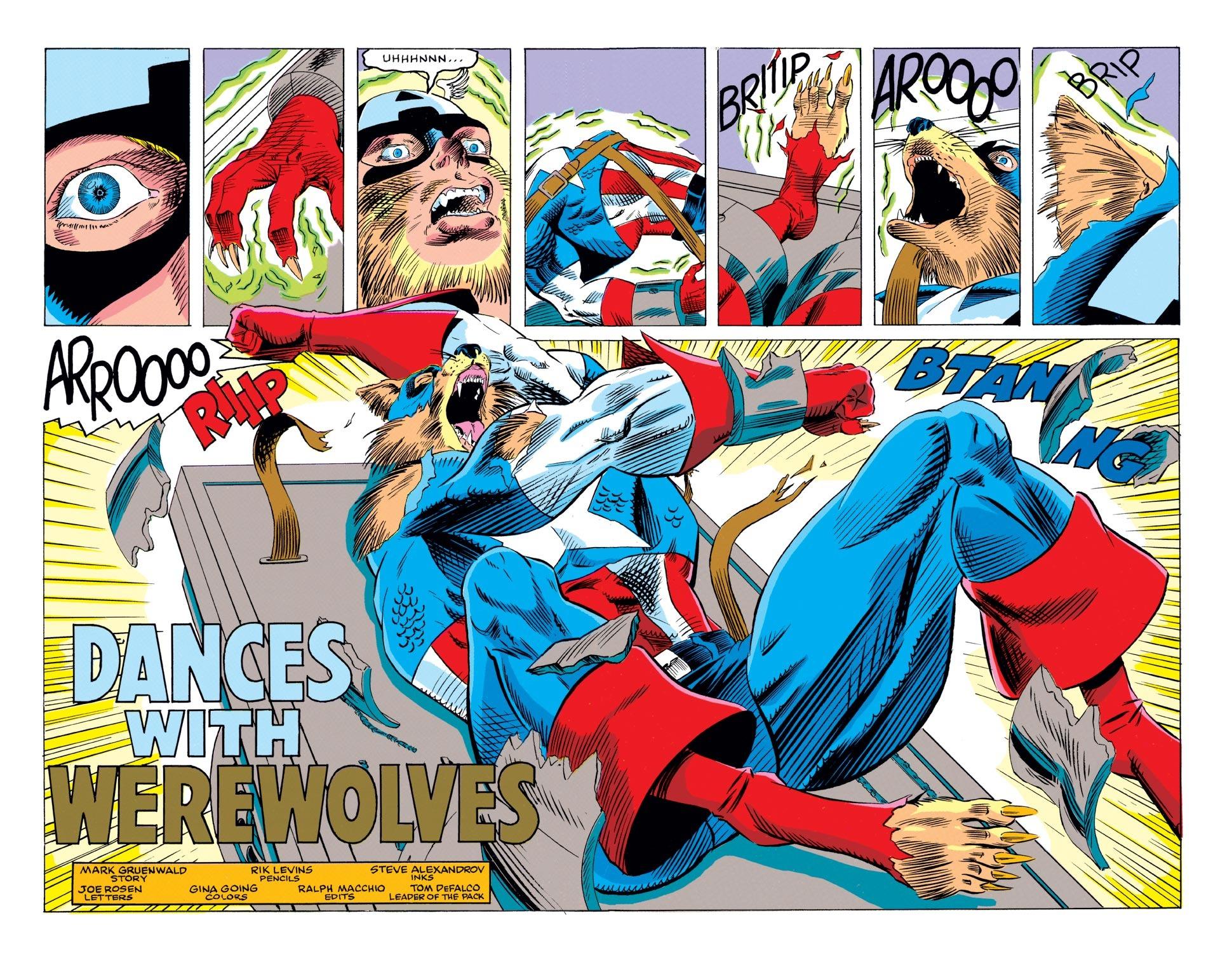 Captain America (1968) Issue #405 #354 - English 3