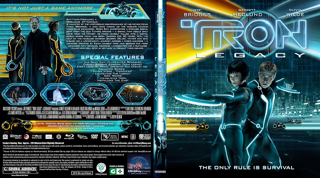 Capa Bluray Tron Legacy