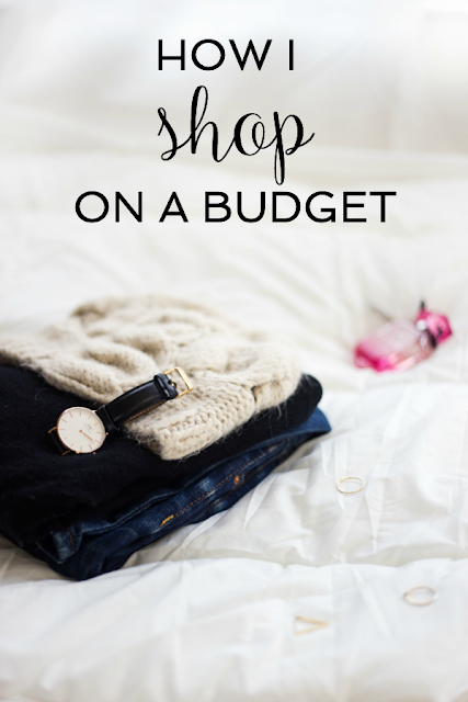 How I Shop on a Budget