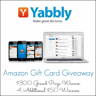 Enter to win part of $500 in Amazon GCs. Ends 9/9