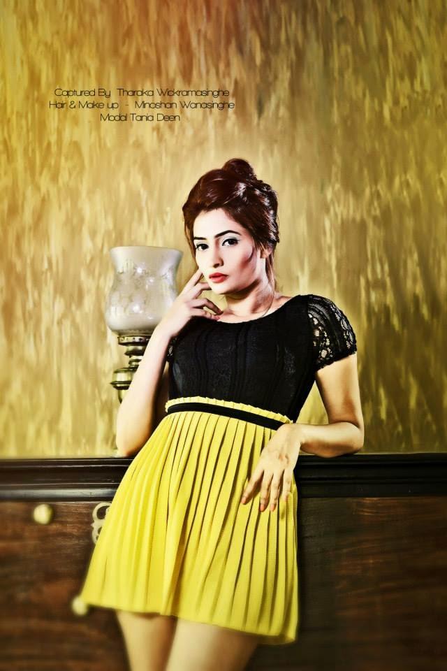 Tania Deen yellow gala