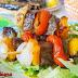 بروشيت اللحم بالخضروات ونكهة البرتقال