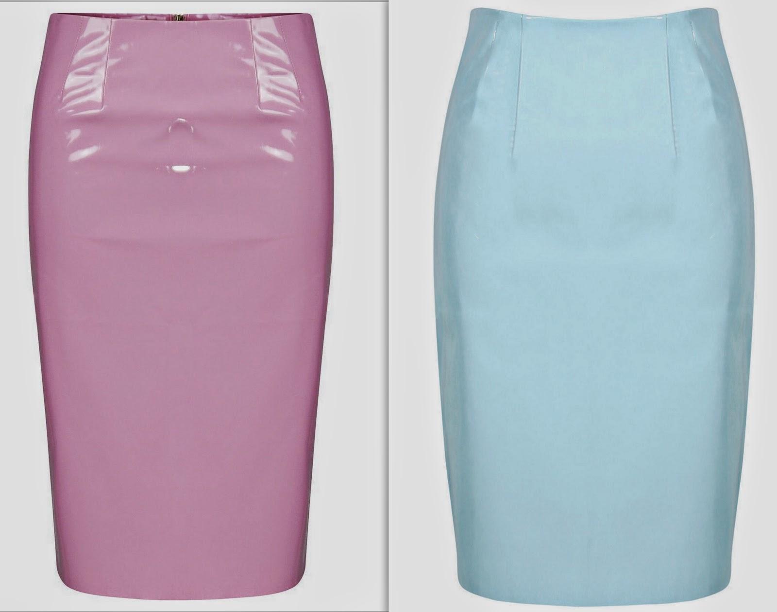 style sense moments trend pvc skirt