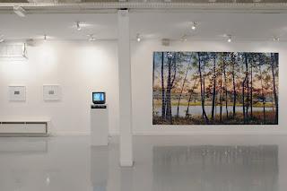 Richard Müller: Vue de l'installation Arcueil