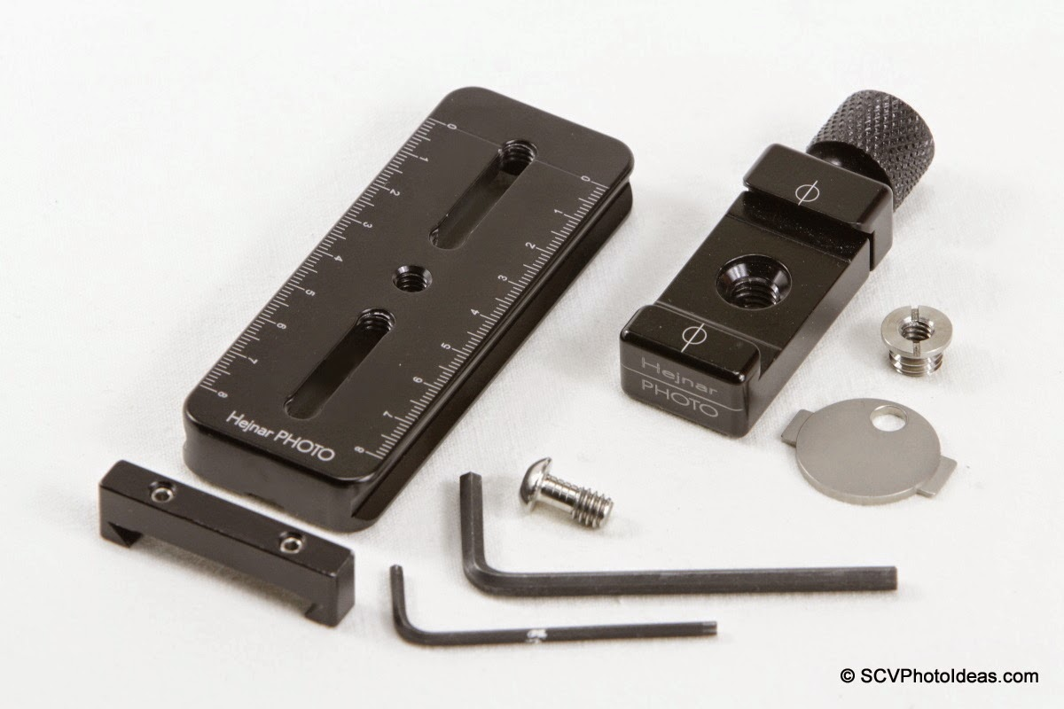 Mini MR Pano Nodal slide components