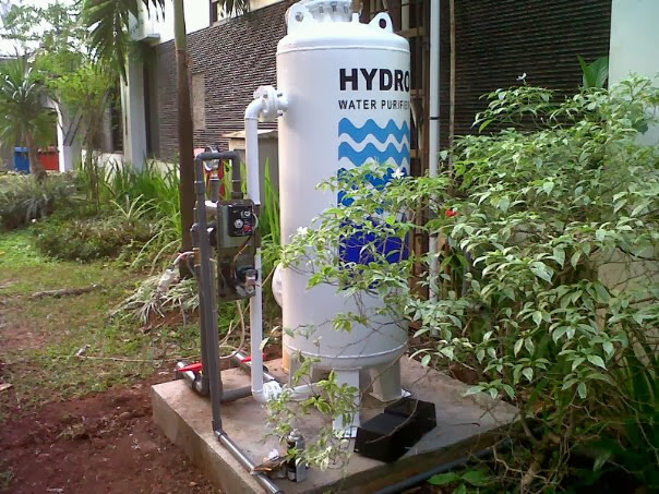 Filter Air Hydro STN 4 Di kampus UI salemba