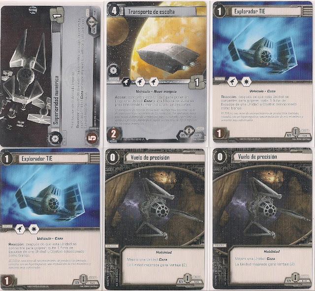 Expansión Star Wars LCG: Ciclo de Ecos de la Fuerza - Oscuridad y Luz Superioridad numérica