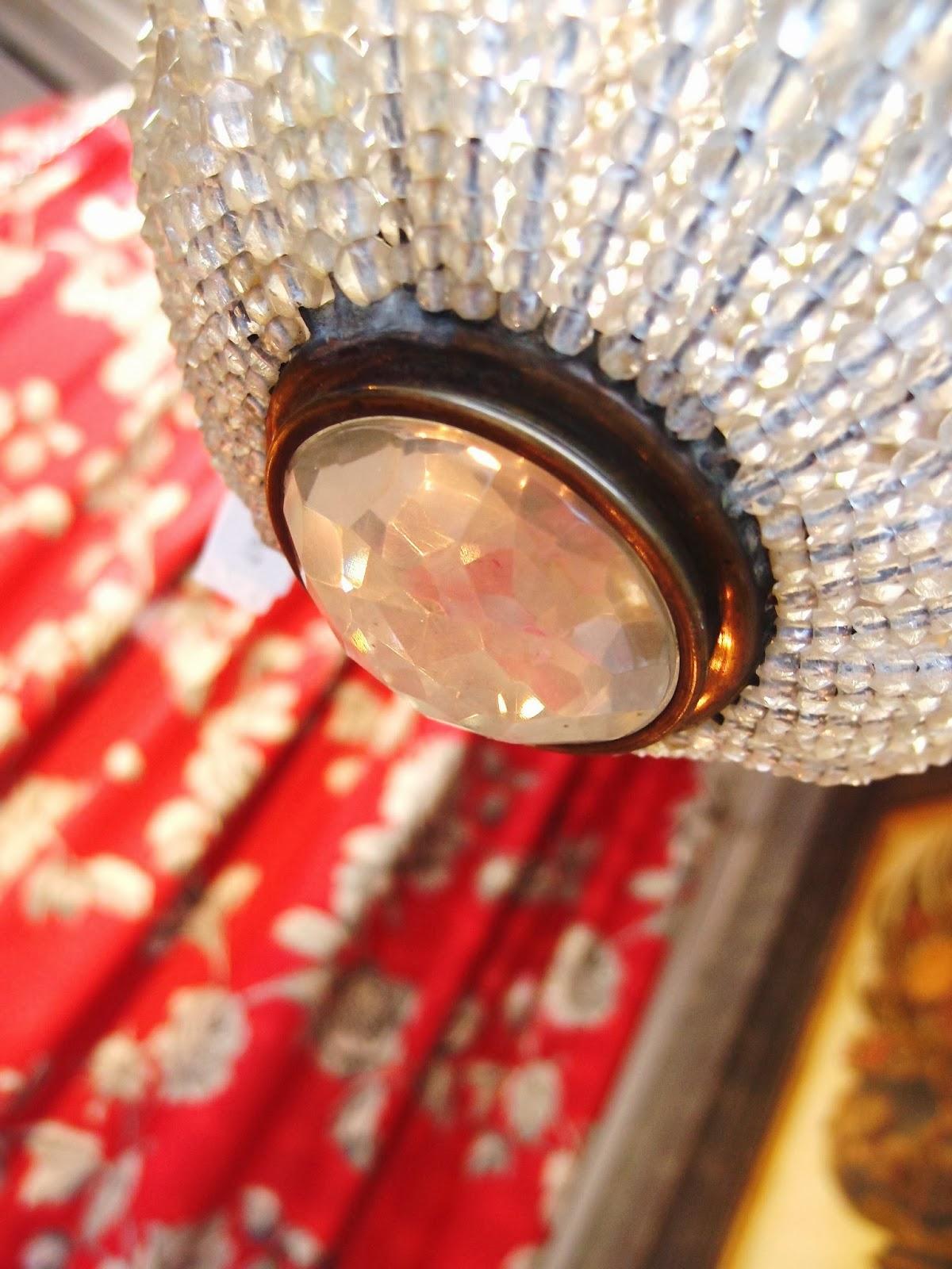 IL BLOG DI ANTICHITA BELLINI: Lampadari antichi in negozio...