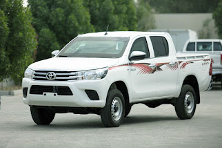 Armored Hilux Double Cab Pickup